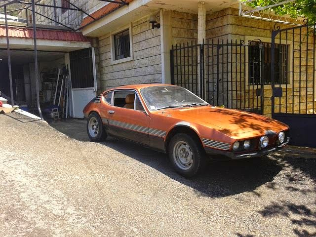 Volkswagen SP2 encontrado no Líbano 01