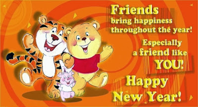 Cartoon Greetings Happy New Year Wishes Greetings Cards 2014 Images Wallpapers