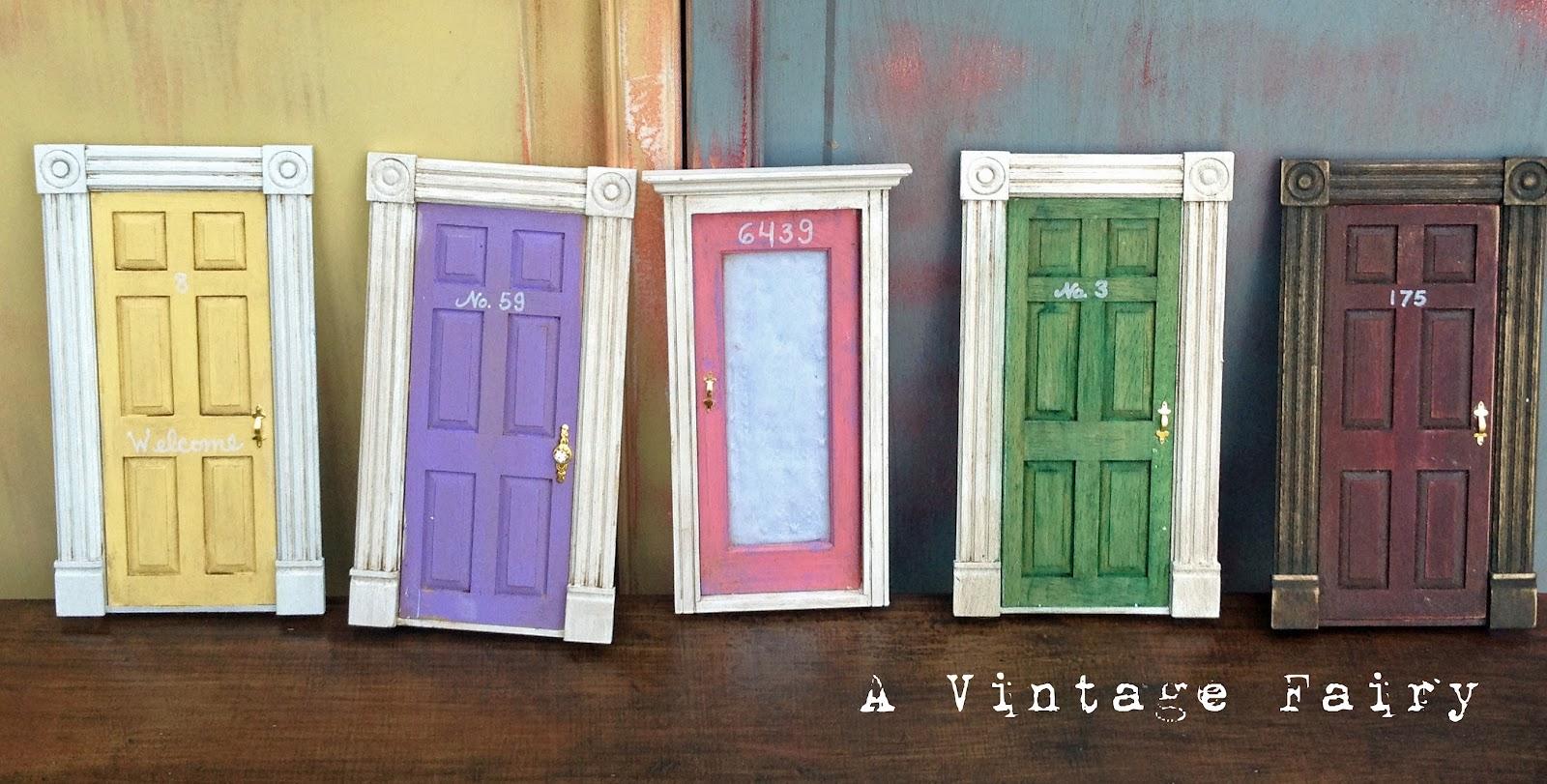 Adorable doors a guest post for Homemade elf door
