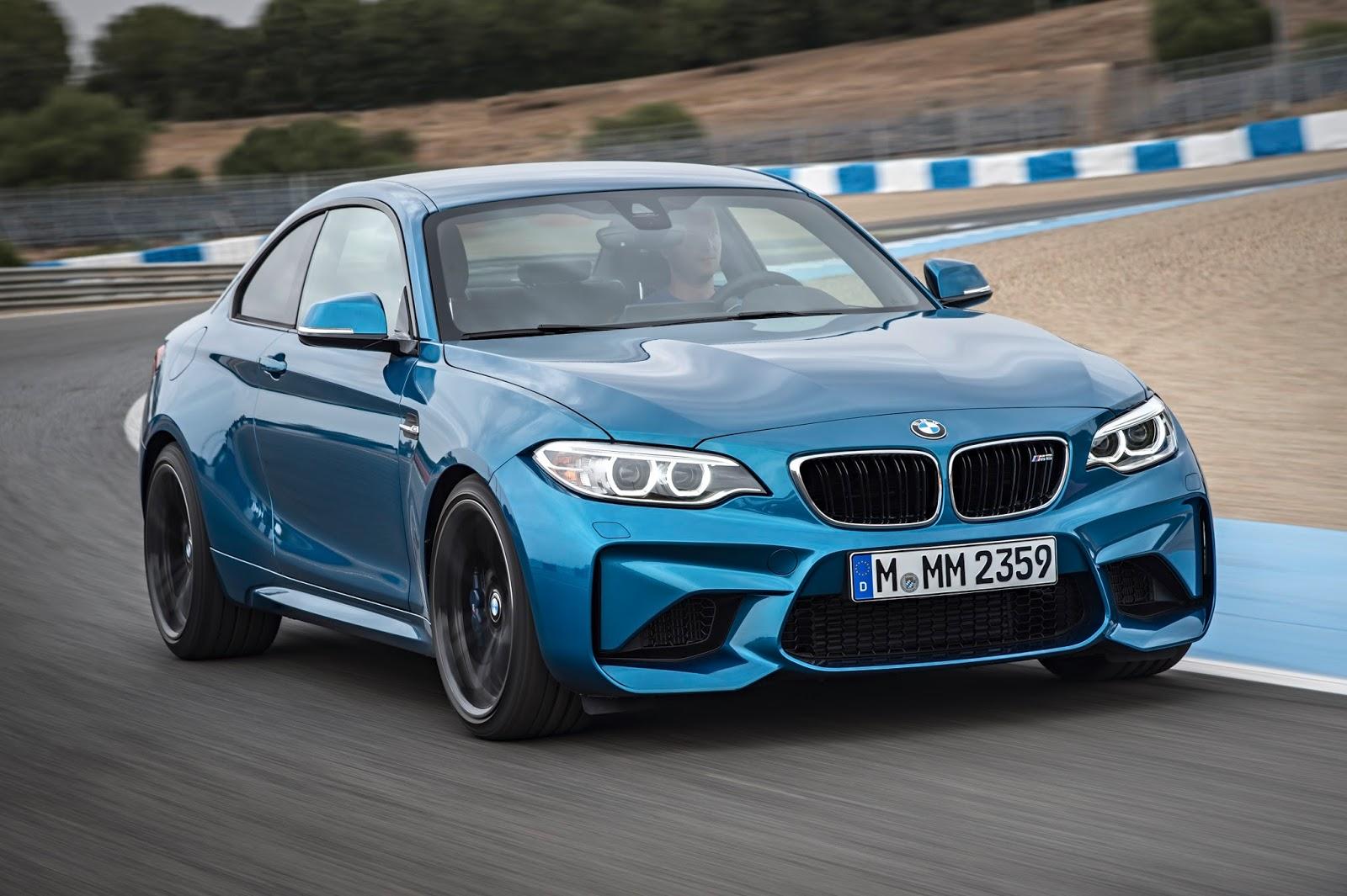 Favori Voiture du Futur: BMW M2 Coupé : la sportive qui partage ses perfs  SJ05
