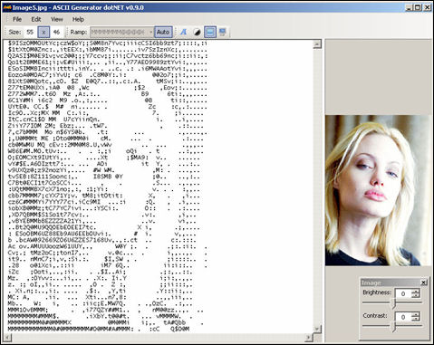 Download ascii art generator 3.2.4.4 serial number, keygen, crack or AS