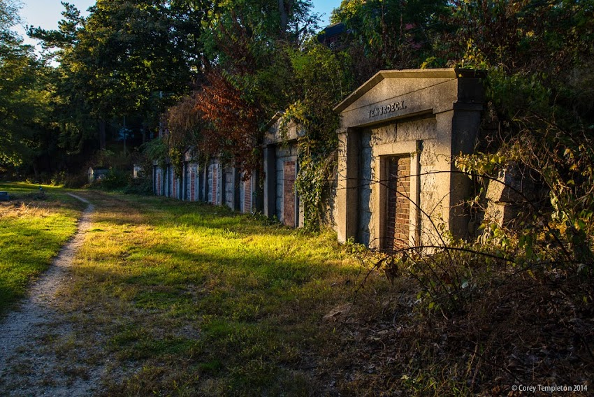 Portland, Maine USA historic Western Cemetery burial ground September 2014 photo by Corey Templeton
