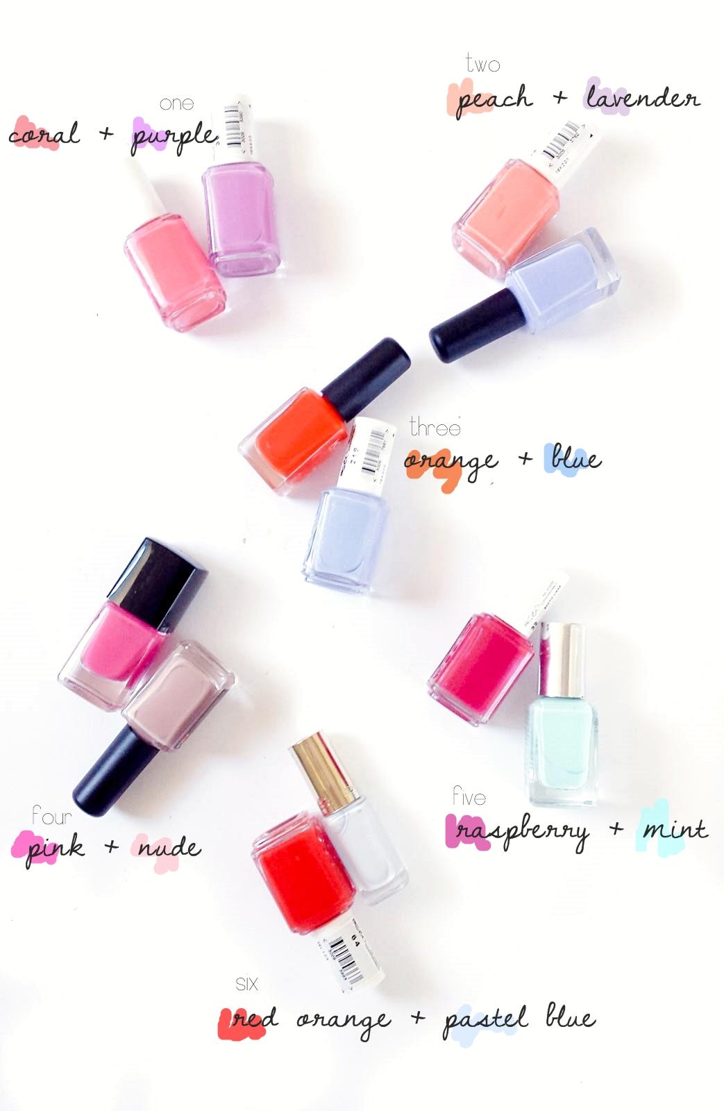 Mani-Pedi Color Combos for Summer | feelbella