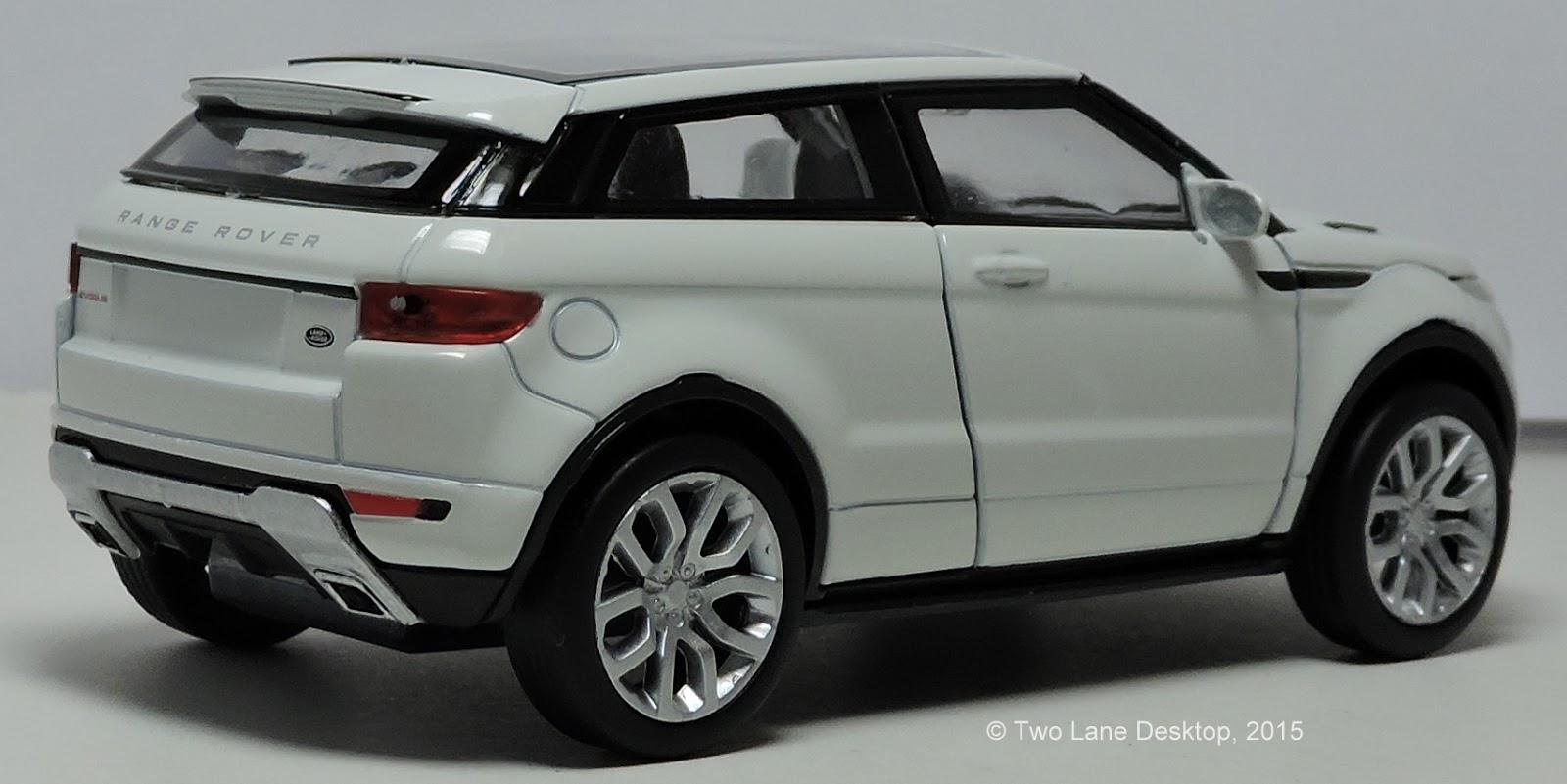 Two Lane Desktop: Welly 1:43 Range Rover Evoque 2-door