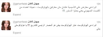 جيهان فاضل تعلن استقالتها الدستور