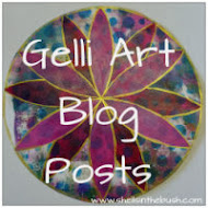 Shells' Gelli Art Blog Posts