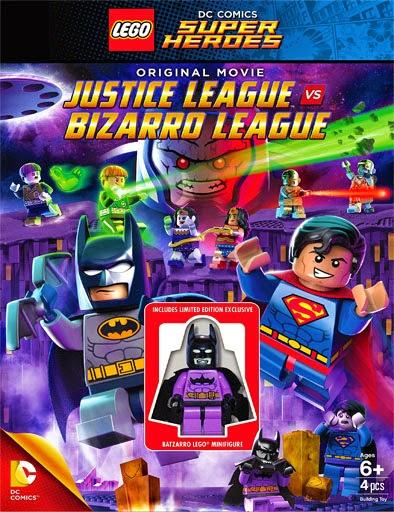Ver Lego DC Comics Super Heroes: Justice League vs. Bizarro League (2015) Online