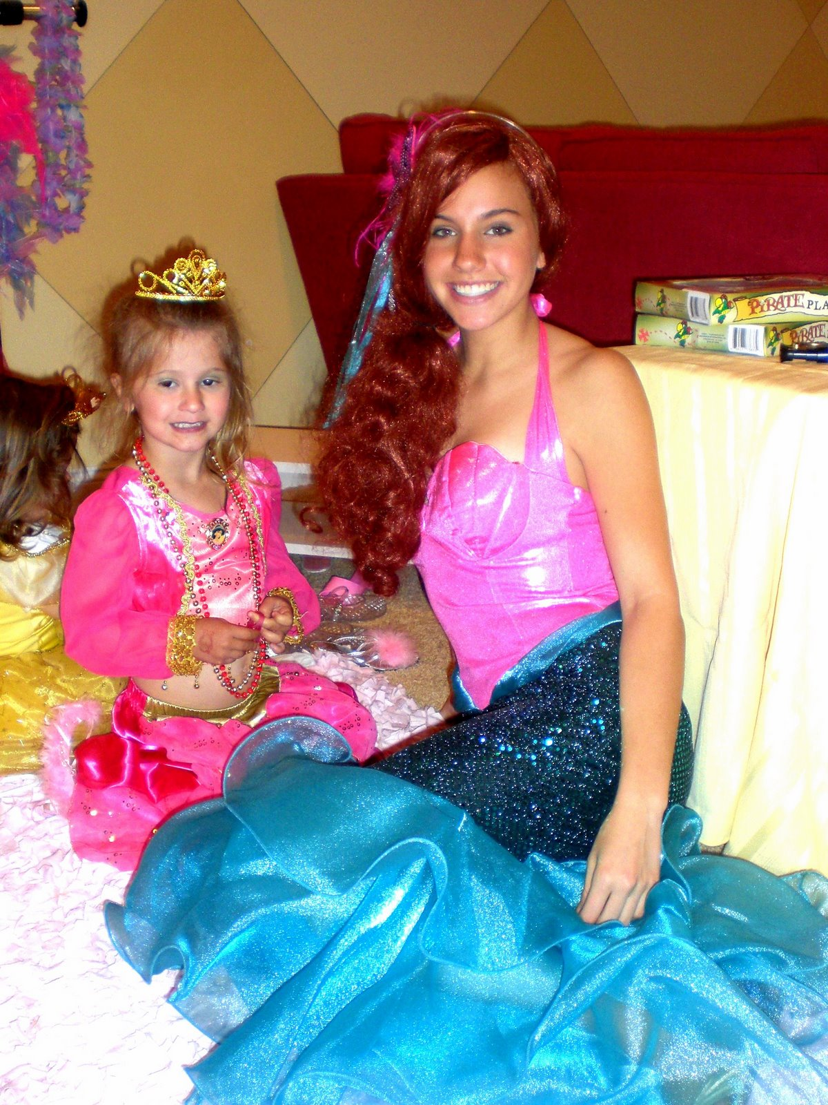 Princess Jasmine Mermaid Princess