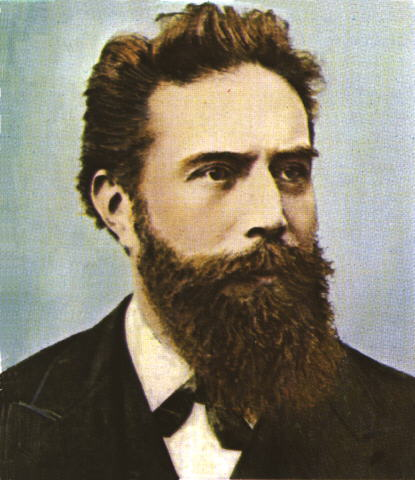 wilhelm conrad roentgen Wilhelm röntgen lived 1845 – 1923 the german physicist, wilhelm conrad röntgen was the first person to systematically produce and detect electromagnetic radiation in a wavelength range today known as x-rays or röntgen rays.