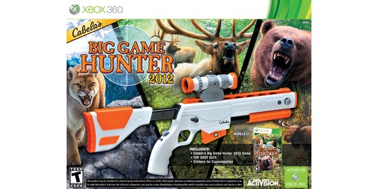Hunting Games For Xbox 360 : North american video game review cabela s big