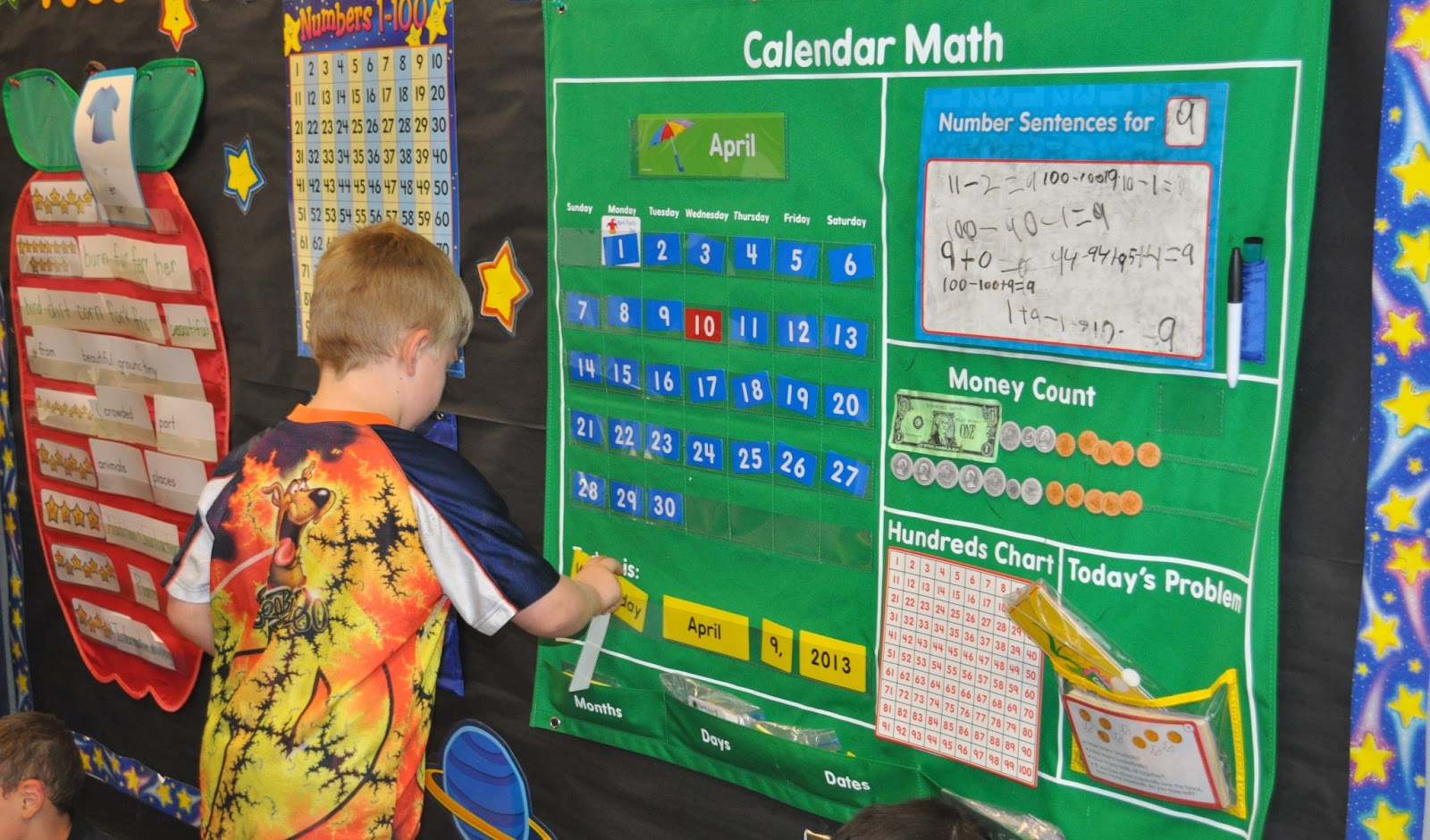 Calendar Activities For First Grade : First grade math calendar images about