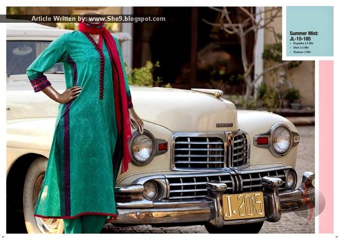 Junaid Jamshed Chiffon 2015