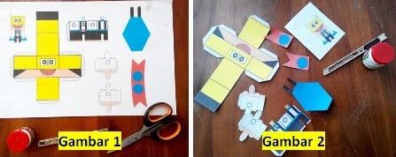 papercraft kartun