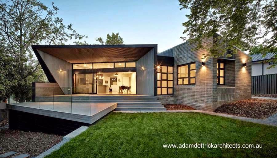 Arquitectura de casas casas modernas y contempor neas de for Techos de casas modernas