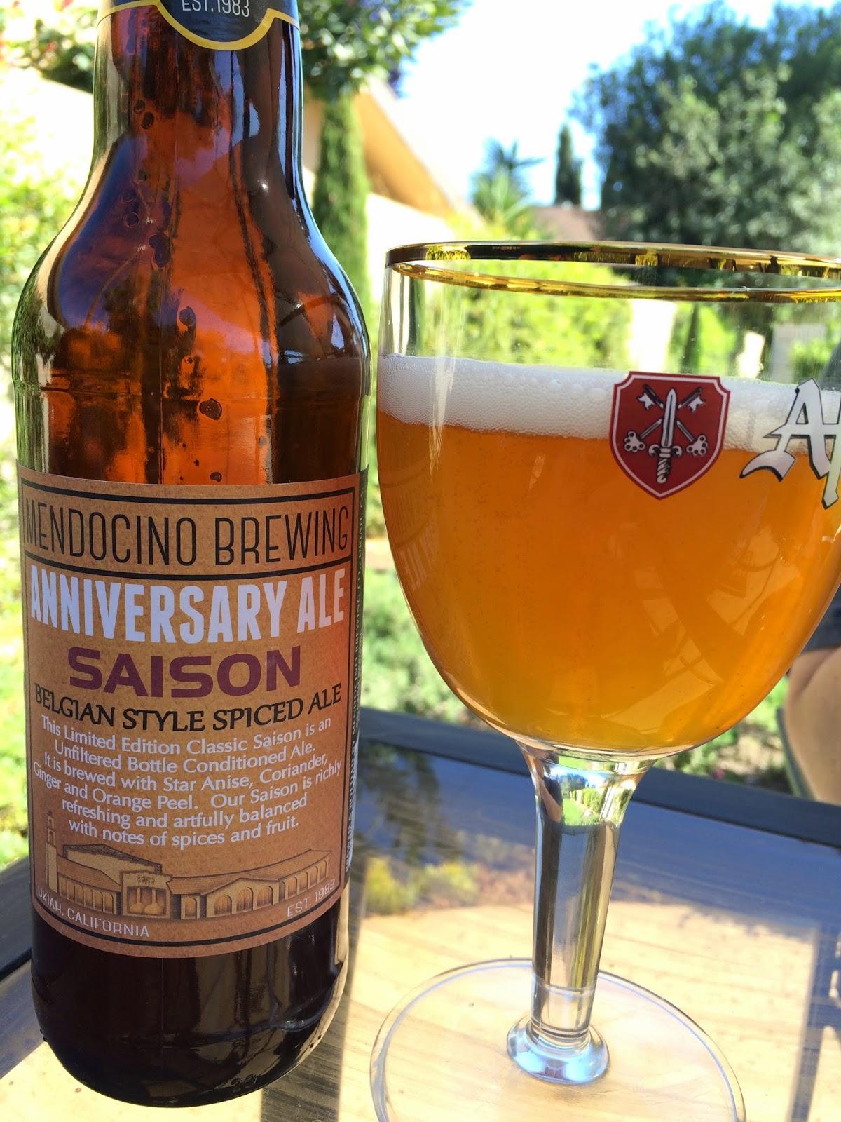 Mendocino Anniversary Ale Saison 1