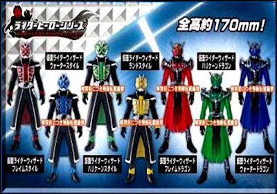 Kamen Rider Wizard Upgrades Revealed?