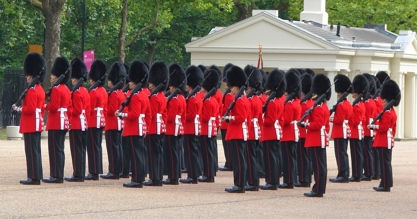 Scots Guards Parade