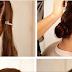Rose Bun Hairstyle Tutorial