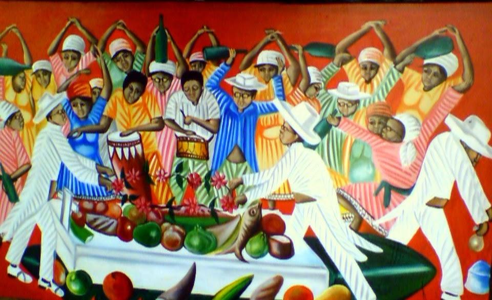 Haitianarts cadre vaudou  République dominicaine