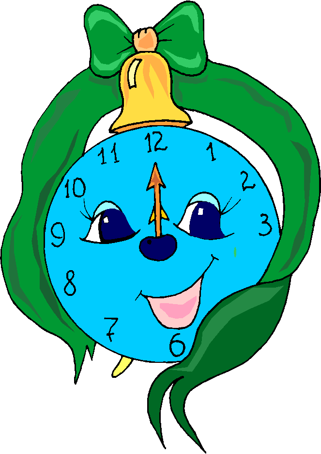 Funny Clock Free Clipart