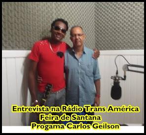 Com o Radialista Carlos Geilson