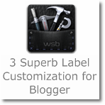 3 Superb Label customization for Blogger