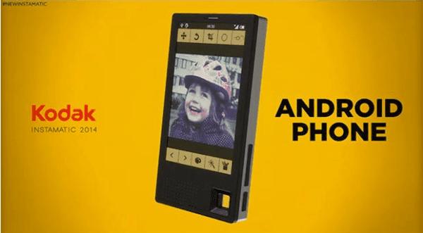 كوداك تعلن عن هاتفها الجديد