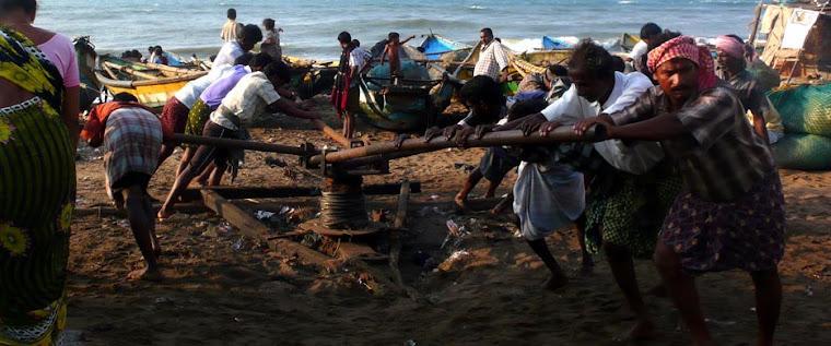 Pescadores en Balaji