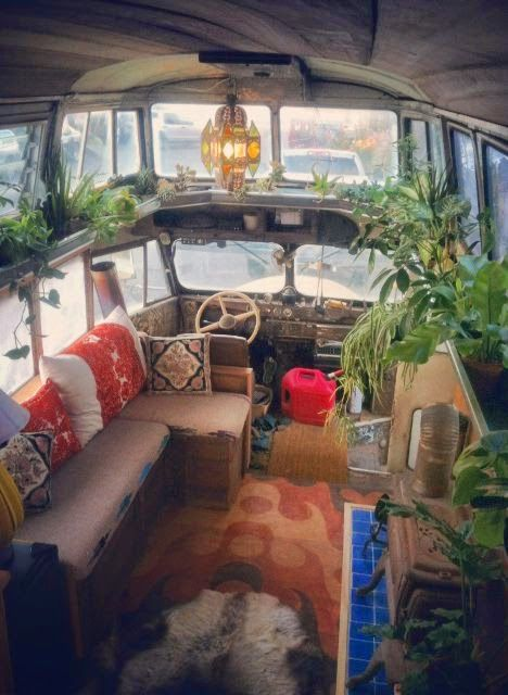 Boho Style In The Interior Luxury Combi Van Camping Car Et Caravane Inspirations D Co Pour Un Abri