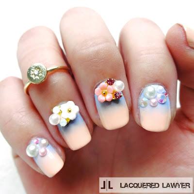 Pantone Petals Nails