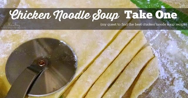 fast, homemade egg noodles