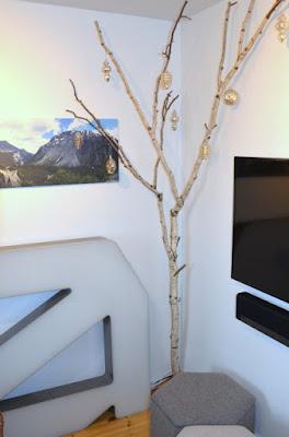 Julepyntet birketræ