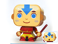 Aang from Avatar : the last airbender