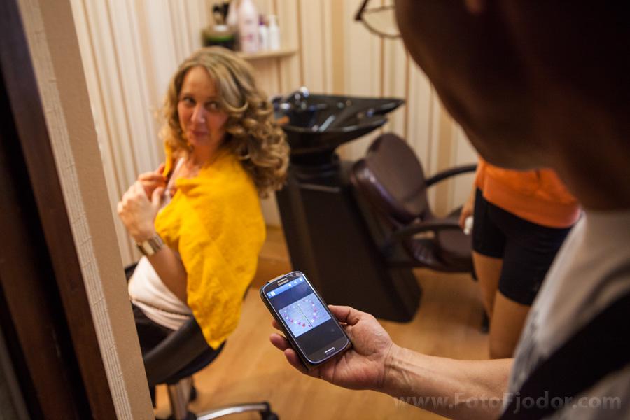 В парикхмахерской