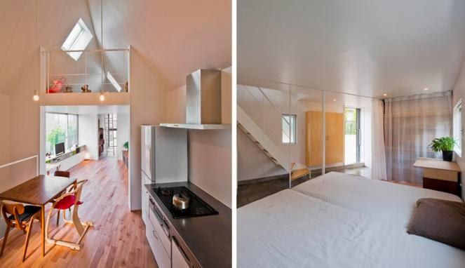 Lihatlah rumah mungil dengan desain unik di Jepang ini. 1. Horinouchi Horinouchi & Foto Inspirasi Desain Rumah Mungil Unik Minimalis di Jepang ...