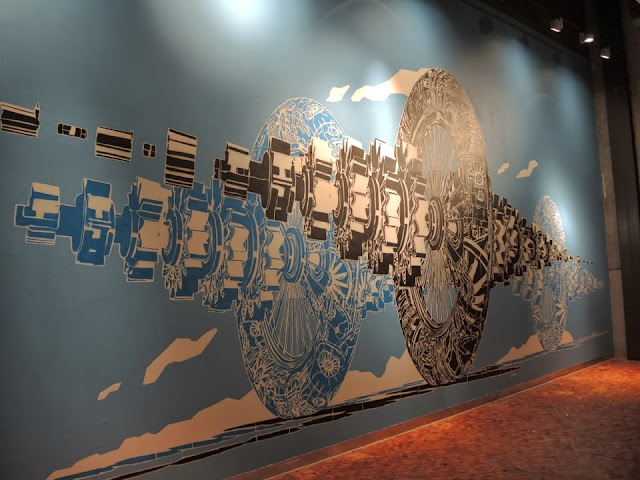 New Indoor Piece By Polish Artist M-City At The Sandnes Science Museum In Norway 4