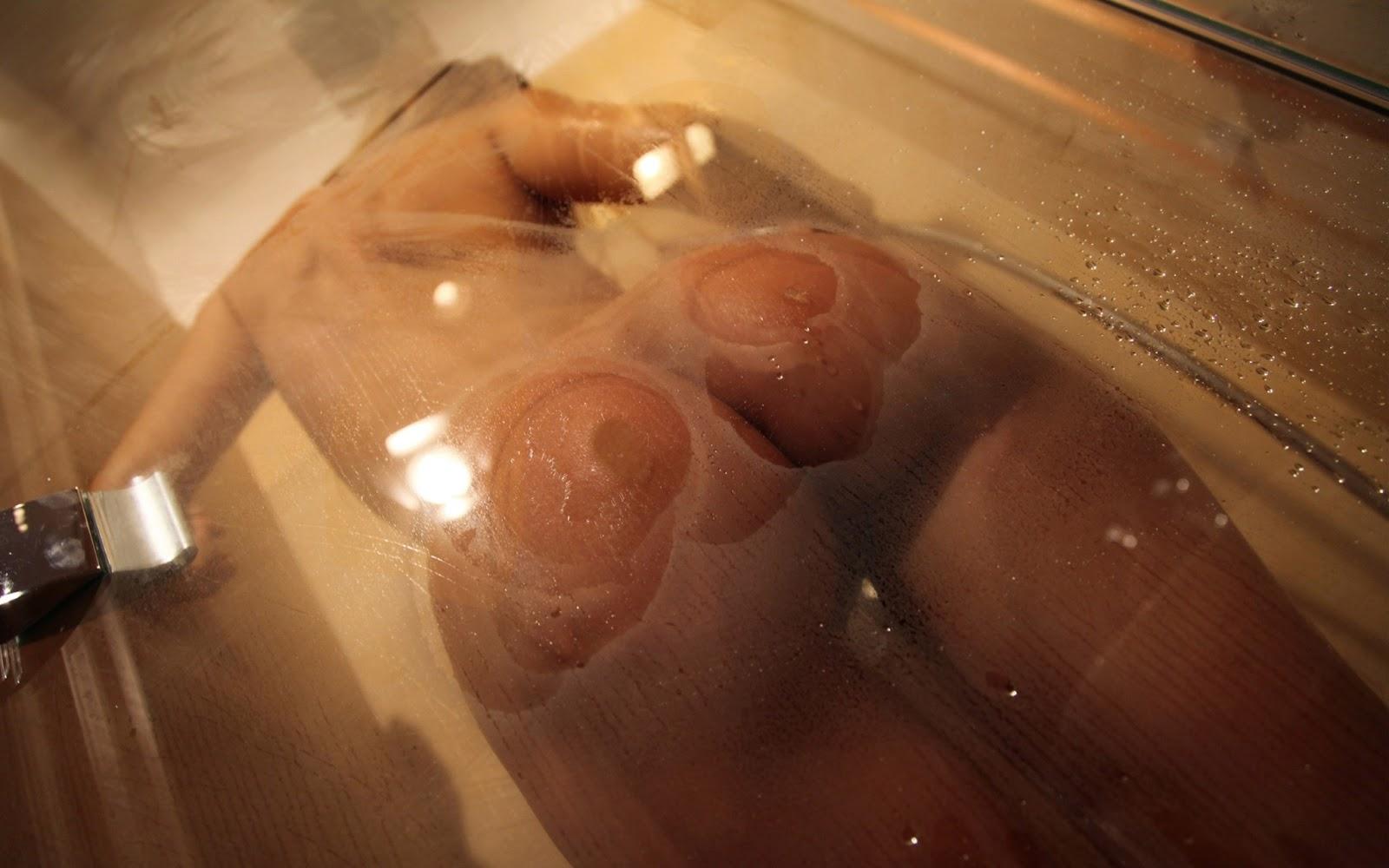 Big Naked Ass Shower Girl
