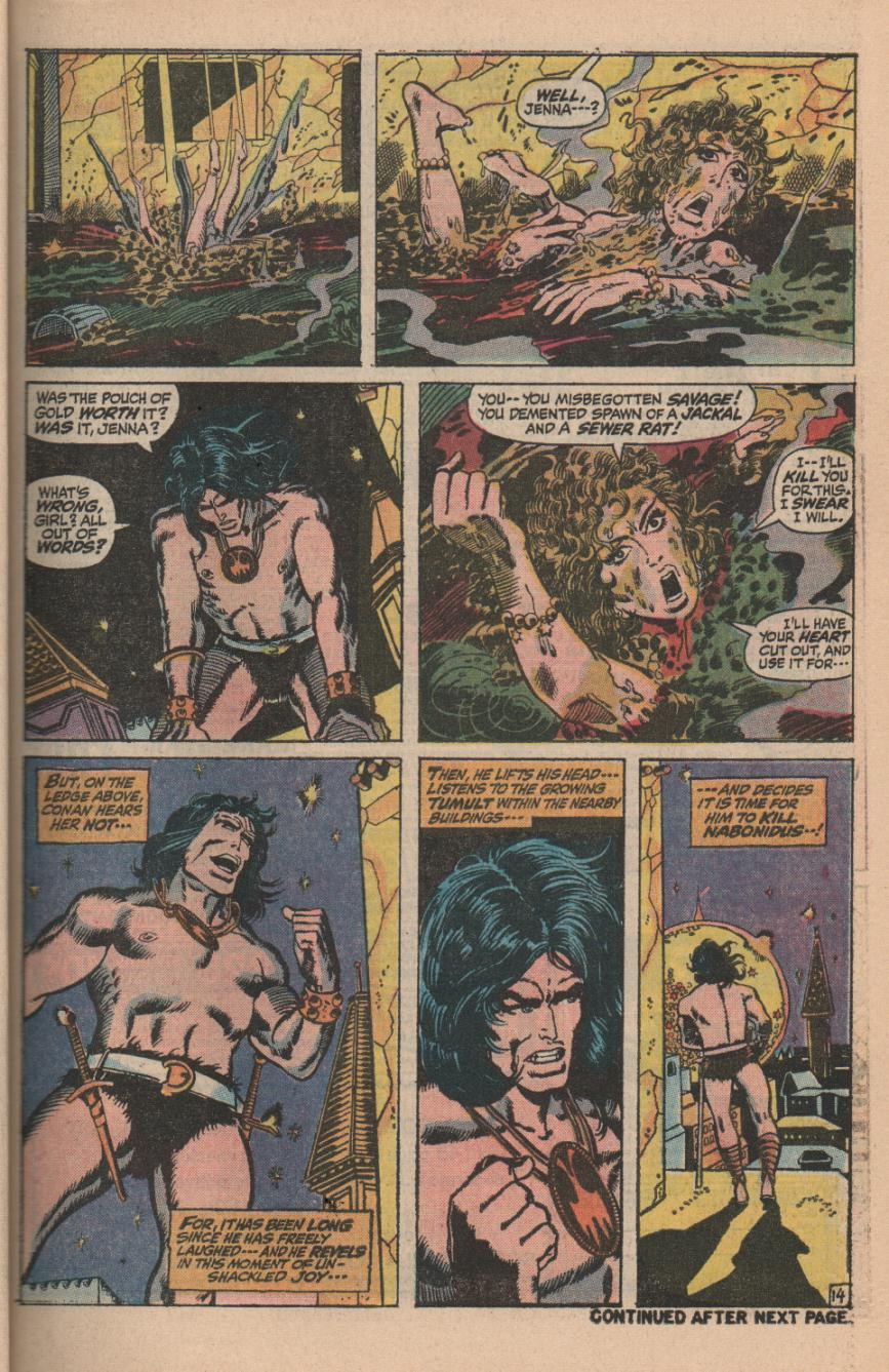 Conan the Barbarian (1970) Issue #11 #23 - English 19
