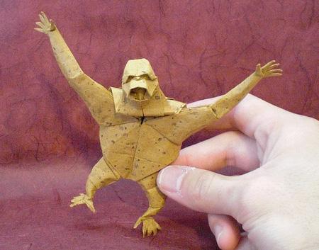 Origami macaco