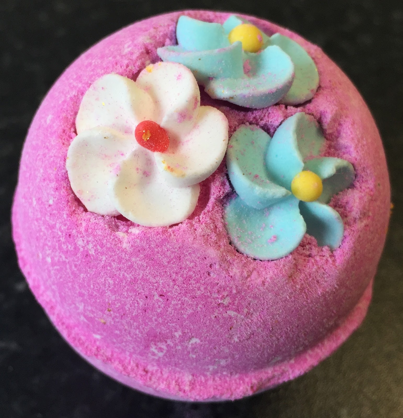 All Things Lush UK Think Pink Bath Bomb