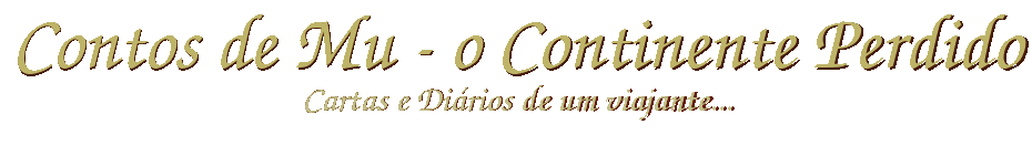 Contos de Mu - O Continente Perdido