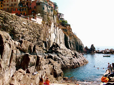 summer in Manarola