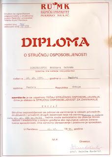 Tailor, Radnicki univerzitet Marko Kulic, Pancevo, Tatjana Dimitrijevic