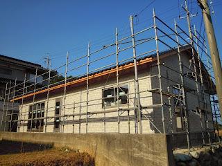 新築工事 外壁工事 島根県浜田市 浜松建設株式会社