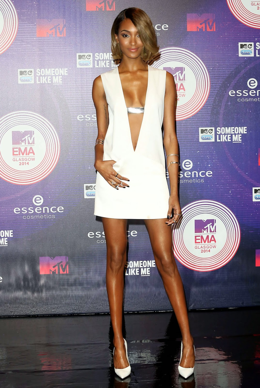 Jourdan Dunn at MTV EMA's 2014 in Glasgow