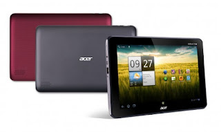 Acer Iconia Tab A200 Available Colors