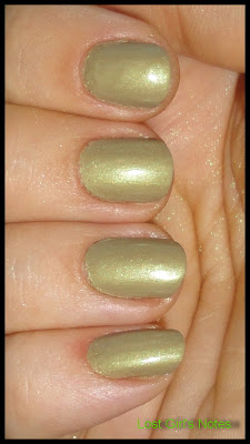 green franken with golden shimmer