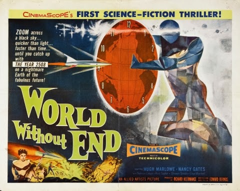 Poster - World Without End (1956)