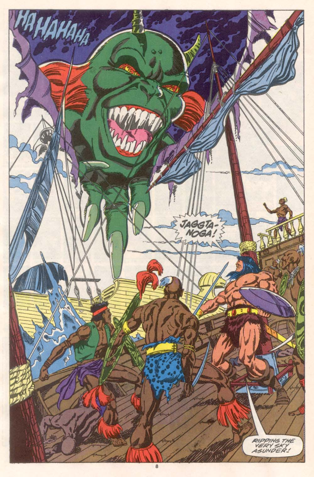 Conan the Barbarian (1970) Issue #243 #255 - English 7