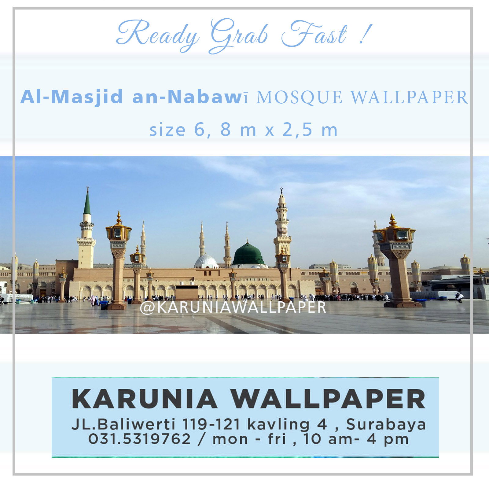 READY WALLPAPER MASJID PROMO!